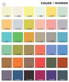 1960s color palette - Google Search
