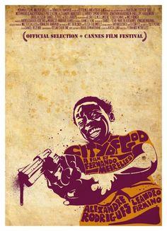 Dan Sherratt's 'City of God' movie poster.