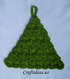 Christmas crafts ideas: Crocheted Christmas tree - Craft Ideas - Crafts for Kids - HobbyCraft