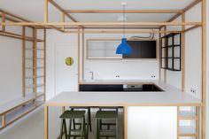 дневник дизайнера: Минималистичный дизайн квартиры студии в Праге