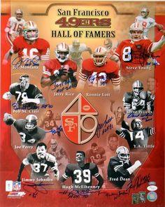 San Francisco 49er greats...I love the vintage look