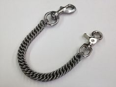 """SHORTY Half-Persian Chainmaille 10"""" Wallet Chain"""