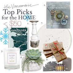 Want some great gift ideas for the Home? Check out my Top Picks under $50 in today's post on The Vancouverite! There's something here that can enhance anyone's home and make it that much more special! Plus, lots of Vancouver makers are represented here!