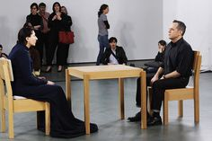 """Maria Abramovic-""""The Artist is Present"""" at the Museum of Modern Art, May 2010"""