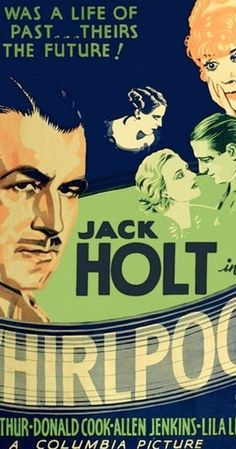 "Directed by Roy William Neill.  With Jack Holt, Jean Arthur, Donald Cook, Allen Jenkins. Carnie owner Buck Rankin marries local girl Helen and plans to go straight, but after a brawl ends up with a twenty-year sentence for manslaughter. When a pregnant Helen vows to wait for him Rankin forges a letter from the warden's office informing Helen that Rankin drowned while attempting to escape. Twenty years later Rankin is released from prison, changes his name to ""Duke Sheldon"", and ..."