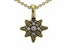 A #Star #Necklace perfect for a #SummerNight or a #BeachDay that will make you stand out above the crowd #JewelryLover #AlexSepkus