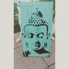 Buddha Wall Decor large chunky wood buddha wall plaque reclaimed wood | buddha wall