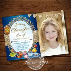 Cinderella PRINTABLE Invitation PRINTABLE DIGITAL FILE Once I receive all of the…