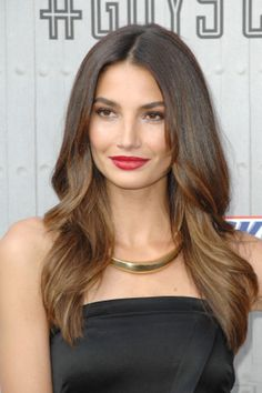 Lily Aldridge STUNNED with this classic beauty look // #celebritybeauty