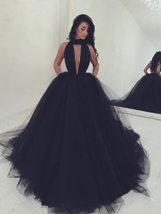 black prom dresses,cheap prom dress,tulle prom dress,ball gowns