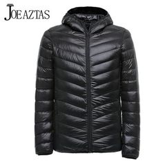 Alion Mens Ultralight Stand Collar Outwear Packable Down Jacket Puffer Coats