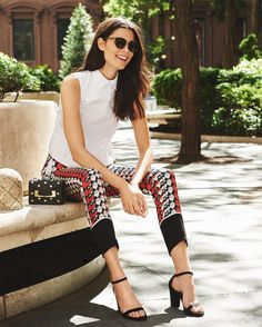 Energize your wardrobe with patterned skirts, shorts, and pants (just add your favorite solid top!)