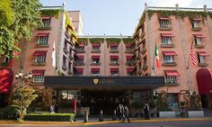 Hotel Geneve in the Zona Rosa in Mexico City