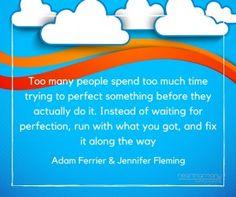 Adam Ferrier Quote