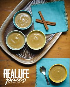 This creamy pumpkin pudding has a low amount of sweetener and filling coconut milk fats (not to mention the benefits of gelatin). Pumpkin Recipes, Paleo Recipes, Real Food Recipes, Paleo Sweets, Paleo Dessert, Coconut Milk Fat, Paleo Thanksgiving, Pumpkin Pudding, Convenience Food