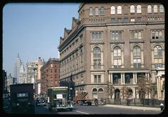 """Up 4th Avenue from Astor Place, Cooper Union on right (Tom Casey said """"I went through Cooper Union"""""""
