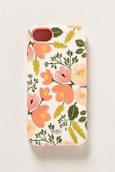Anthropologie - Painted Poppies iPhone 5C Case