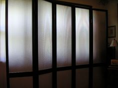 With Lucite panels. design-divide.com. Patented system.