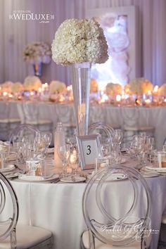 Tablescape   White Wedding at Le Parc