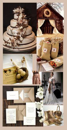 Burlap gift bags for wedding