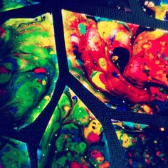 """Stained """"Glass"""" Art Project with Crayons and Wax paper"""