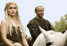 Daenerys Targaryen and Jorah Mormont 1x03 - Lord Snow