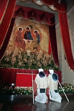Giovedì Santo - Perdoni di guardia al Sepolcro - #Taranto Italy