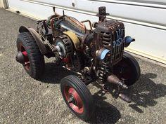 Singer machine tractor