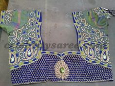 Cut Work Saree Blouse Designs | Saree Blouse Patterns