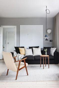 Inside Scoop: A Monochrome Hillside Abode in Norway