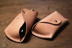 Leather sunglass cases on Behance