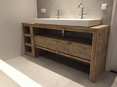 Meuble salle de bain de chez Pays Bois