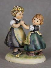 Vintage SPRING DANCE 6-3/4 inch Figurine  (Hummel 353/I, TMK 6) Very Fine 8.0