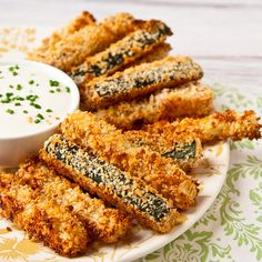 Crispy Baked Zucchini Fries_FG_20110606_01 by foodiebride, via Flickr