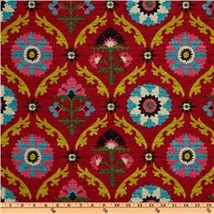Love it! Waverly Mayan Medallion Desert Flower