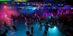 The most popular thermal bath in Budapest, Szechenyi Spa & Baths is famous for its summer nights