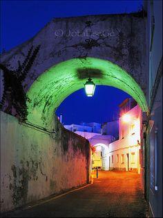 Rua dos arcos (Albufeira, PORTUGAL)