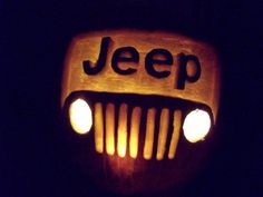 Jeep Pumpkin