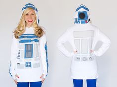 R2-D2 Costume Hoodie From Her Universe