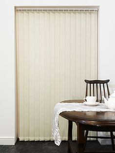 Marle Vanilla Ice Vertical Blind from Blinds 2go