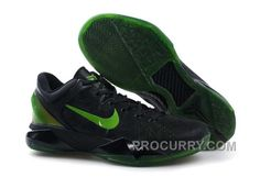 http://www.procurry.com/nike-zoom-kobe-vii-mens-black-green.html NIKE ZOOM KOBE VII MENS BLACK GREEN Only $119.00 , Free Shipping!