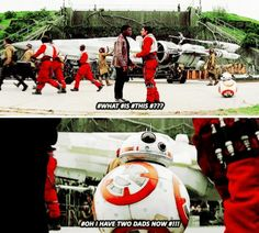 BB8 knows what's up