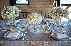 Winter White Wedding Flowers   OneWed