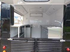 inside food van