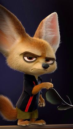 Zootopia- probably my favorite character