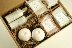 READY TO SHIP Pampering Bath Gift Set by ElegantRoseBoutique