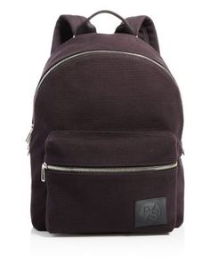 PAUL SMITH Backpack. #paulsmith #bags #leather #canvas #backpacks #
