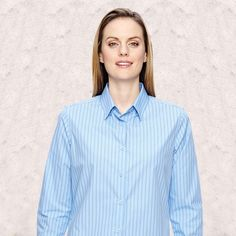 Find the most affirmative look with Ash City-North End-Align Ladies Wrinkle Resistant Cotton Blend Dobby Vertical Striped Shirts -77044