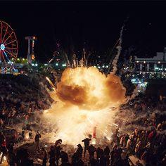 Un festival de feux d'artifices en photographie !