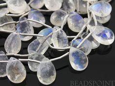 Natural '' NO TREATMENT'' Rainbow Moonstone Medium by Beadspoint, $29.95